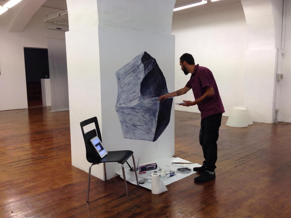 Gabriele Bonato, work in progress - CRACKS, Inside the roots