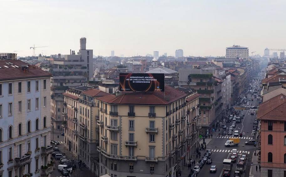 Discipula, Morpheus - Milano Media Action, 2017, ink jet on fine art paper, 120 x 80cm
