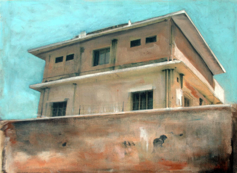 Antonio Bardino, senza titolo, olio su tela, 30 x 40 cm