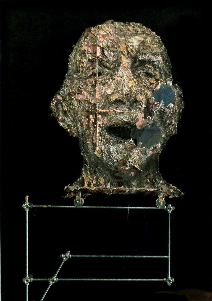 Aleksander Velišček, S.Hessel   2014, tecnica mista, cm 109 x 78