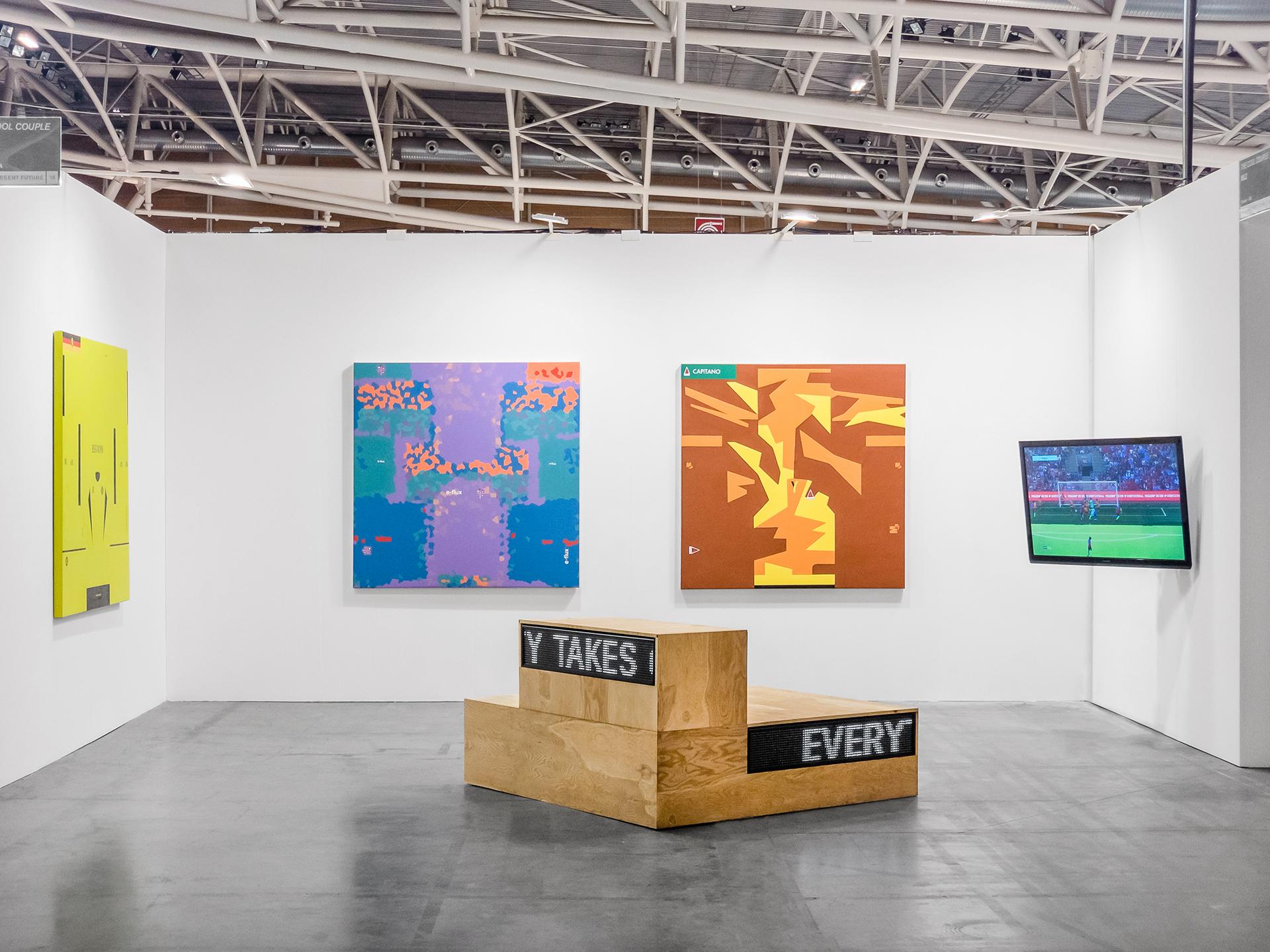 The Cool Couple, Emozioni Mondiali, Installation view, Artissima 2018
