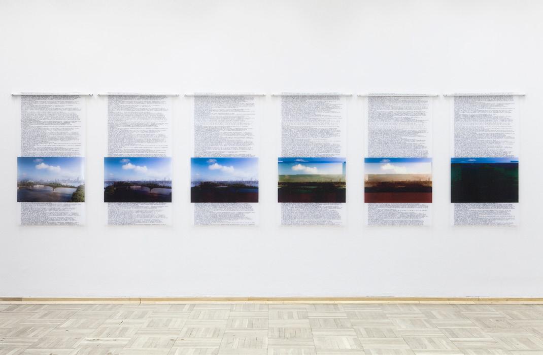 Discipula, Just like Arcadia, 2016, digital print on PVC, 150x75cm each