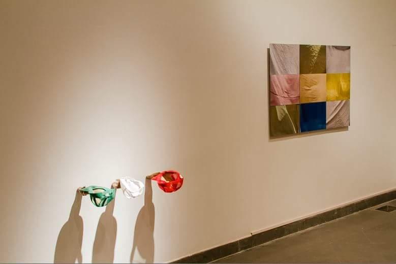 Calixto Ramirez, cuatropasos | napoli, 2016, Museo del Novecento, view of the show