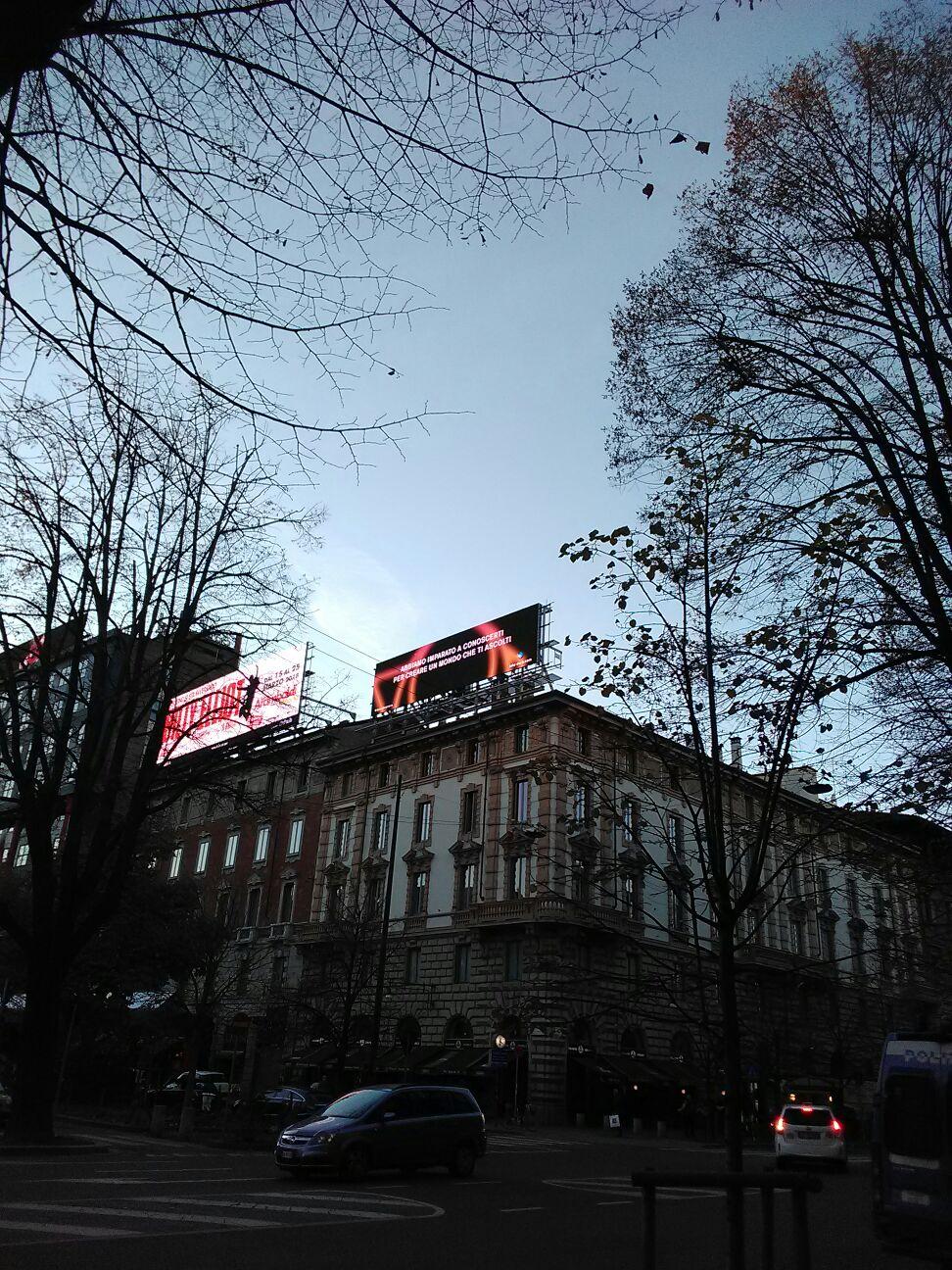 Outdoor Media Action - Piazzale Cadorna, Milano