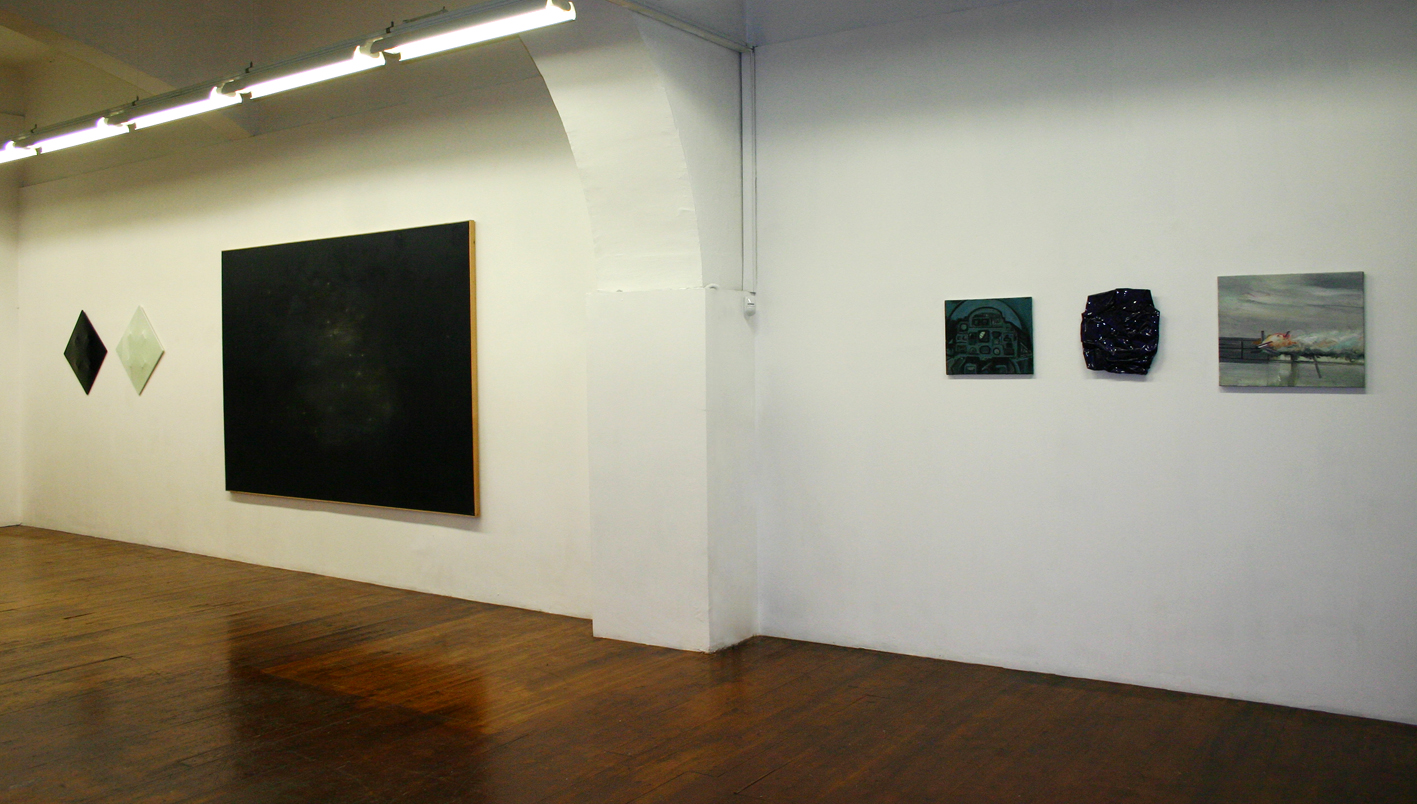 Gino Blanc - Escape from space - view of the show