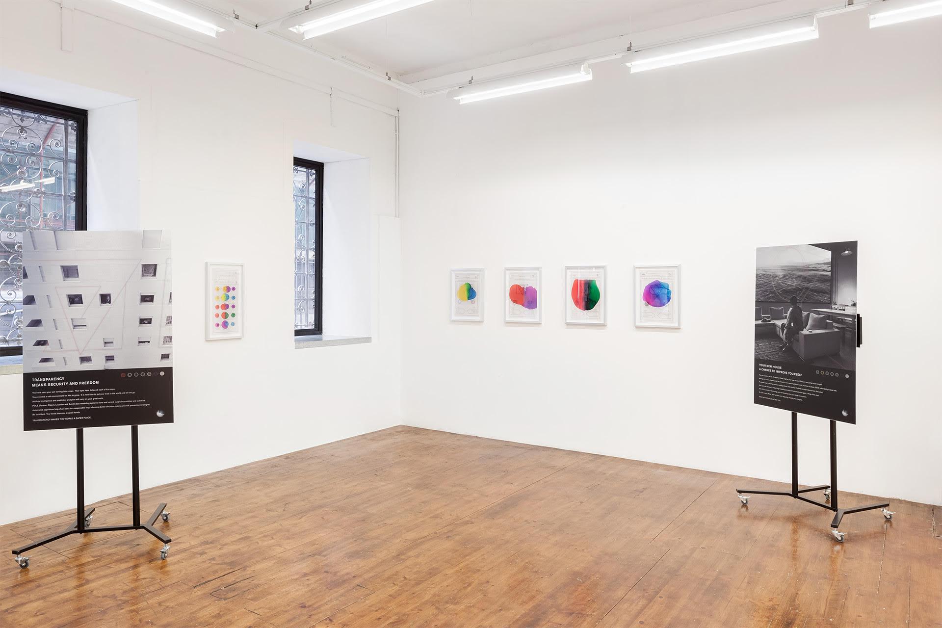 POIUYT. Punto Zero. view of the exhibition - MLZ Art Dep, 2017
