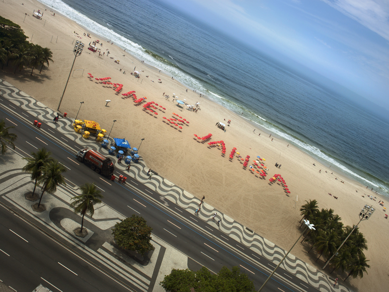 Janez Janša,Janez Janša,Janez Janša,Signature (Copacabana), 2008, inkjet print, plexiglass, 61 x 46 cm