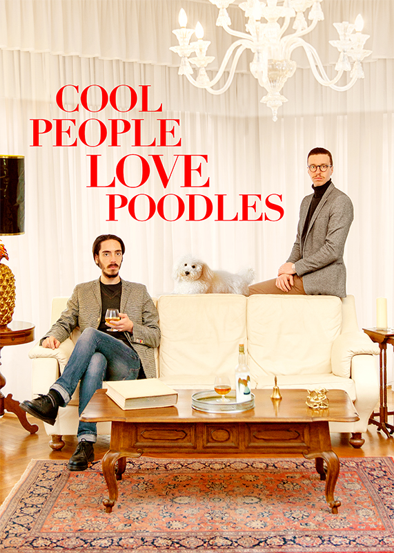 The Cool Couple, Untitled 001, from the series Cool People Love Poodles, 2014, mixed media, 170 x 130 cm